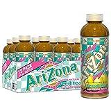 Arizona Tea, Premium Brewed Lemon Bottled Tea, 16 Fl Oz (Pack of 12)