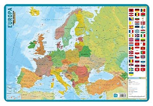 Grupo Erik Editores Lamina Educativa Mapa De Europa