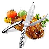 Multifunzione Forbici da Cucina , AlfaView Trinciapollo Smontabili, Acciaio Inox Forbici Cucina per Carne, Forbici Pollo, Forbici da Pesce, Ossa, Apribottiglie, BBQ