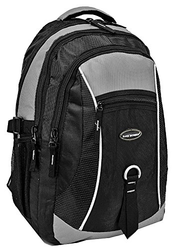 Rucksack Alltag Rucksack, City Rucksack, Backpack Bag Laptoprucksack Nylon Grau
