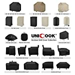 Unicook 2 Burner Barbecue Cover, Heavy Duty Waterproof Outdoor BBQ Grill Cover, Fade and UV Resistant Oxford Fabric… 9