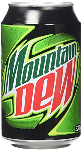 Mountain Dew, 330 ml (12 Pack)