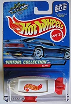 Hot Wheels Virtual Collection Cars White/RED Blimp #142
