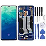 Lihuoxiu Mobile Phone Replacement LCD Screen AMOLED Material LCD Screen and Digitizer Full Assembly with Frame for ZTE Axon 10 Pro (4G Version) (Color : Blue)
