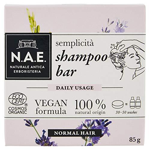 N.A.E. Shampoo Solido Semplicità, Shampoo Bar...
