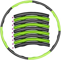 Foam Fitness Exercise Hula Hoop, Lose Weight, Make Thin Waist, Fitness Exercise, Aerobic Exercise, 6/7/8 Sections Parts...