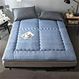 GAXQFEI Colchón grueso doble cojín individual suave japonés piso futón Colchones antideslizante cómodo colchón 120 x...