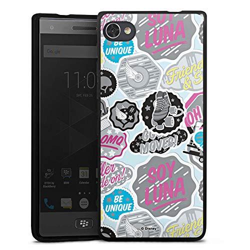 DeinDesign Silikon Hülle kompatibel mit BlackBerry Motion Hülle schwarz Handyhülle Soy Luna Disney Offizielles Lizenzprodukt