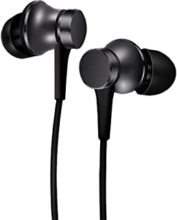 Xiaomi 362887 In-Ear Headphones With Piston Basic Black, Zbw4354Ty