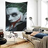 Ghoul Decor Tapestry J-Ared Leto Jo-Ker Wall Art Tapestries Hanging Tapestries for Bedroom Living Room College Dorm One Size