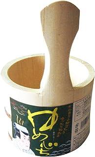 天然木 湯桶 手付湯桶 39053