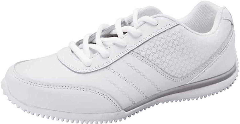 ScrubStar Leather Athletic HOLLY White