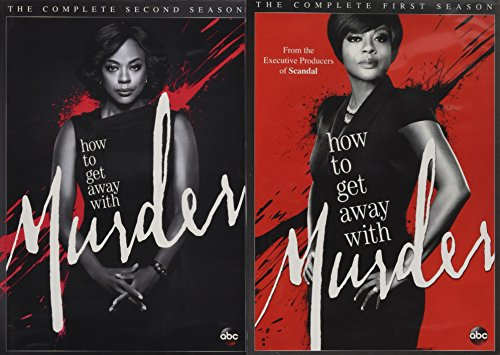 HOW TO GET AWAY WITH MURDER: SEASON 1 & SEASON 2 - HOW TO GET AWAY WITH MURDER: SEASON 1 & SEASON 2 (8 DVD)