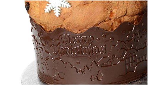 Nastro Structures Natale Dai rilievo ai tuoi dolci Modecor per cioccolato o pasta di zucchero