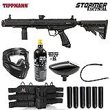 Maddog Tippmann Stormer Tactical Titanium Paintball Gun Marker Starter Package - Black