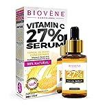 Suero de vitamina C Biovène - Suero de vitamina C para la cara que ayuda a la piel joven - relajante, brillante y reafirmante - reduce las líneas finas (30 ml)