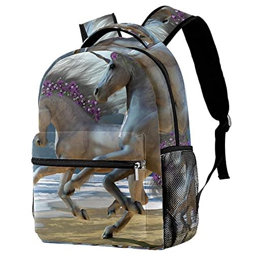 DesertBackpack impermeable bolsa de libro mochila ligera para viajes escolares, mochila para mujeres y hombres de fútbol, Multi-4,