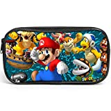Labeol Super Mario Pencil Case Large Capacity Durable Pencil Pouch with Zipper Cute Pencil Case Students Stationery for Girls Boys and Adults (3)