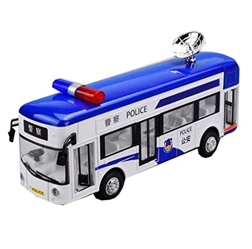 Black Temptation (Juguete) Coche / Autobús / Policía / Coche Escolar con Luces y Sonidos para Niños Pequeños / Regalo para Niños, A1