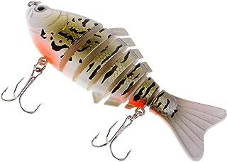 HOMYL Plastic Segmented Fishing Lure 7 Sections Bass Hard Baits Fishing Tackle 10cm/15.6g