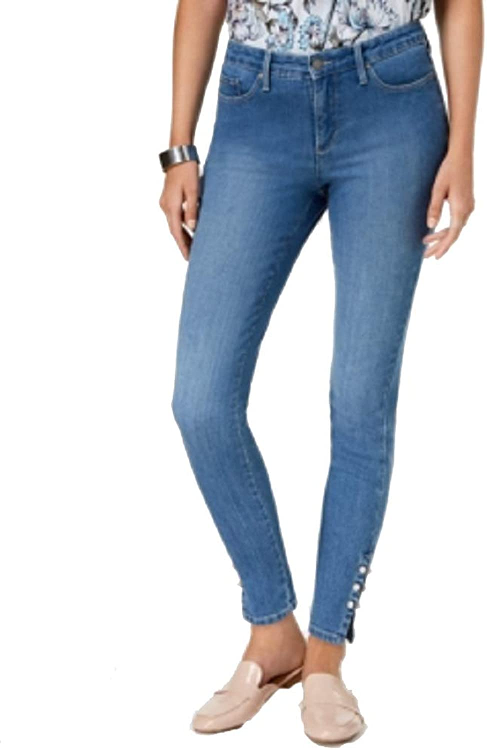 Charter Club FauxPearlEmbellished Skinny Jeans