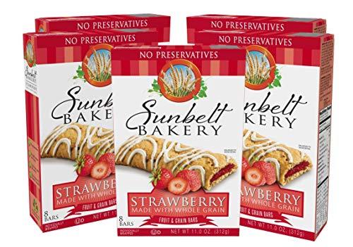 Sunbelt Bakery's Strawberry Fruit & Grain Bars, 1.4 oz Bars, 40 Count