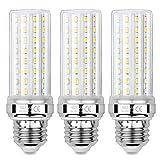 Sauglae Bombillas LED de Maíz de 20W, Bombillas Incandescentes Equivalente de 150W, Blanco Cálido de 3000K, 2000 lm, Bombillas de Tornillo Edison E27, 3 Piezas