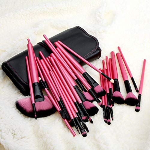 Maquillage Brush 32 Kit de maquillage Doux et confortable, rouge