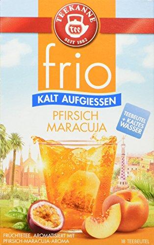 Teekanne frio Pfirsich Maracuja, 5er Pack (5 x 45 g)