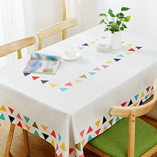 ZWL Table basse Manteau Tissu Linge de lit Tissu de table Nappe Rectangulaire Enfant Petite table carrée Tissu de bureau Frais , Ajoutez de la vitalité à la cuisine ( taille : 140*180CM )