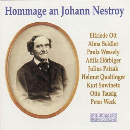Hommage an Johann Nestroy. Couplets, Monologe und Szenen Titelbild