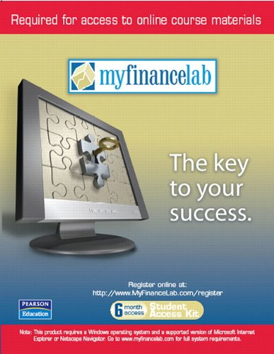 MyFinanceLab 6-Month Student Access Code Card (for valuepacks) for Personal Finance: Turning Money into Wealth and Stude
