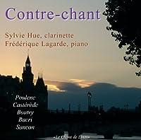 Sylvie Hue: Contre Chant-poulenc, Casterede, Boutry, Bacri, Sancan