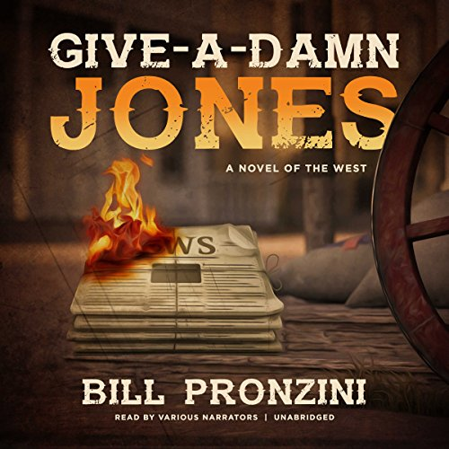 Give-a-Damn Jones audiobook cover art