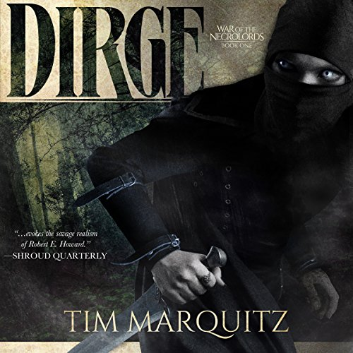 Dirge audiobook cover art