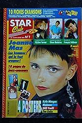 STAR CLUB 19 1989 06 Jeanne MAS Mylène FARMER Glenn MEDEIROS François FELDMAN