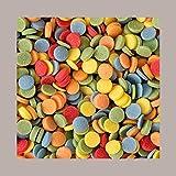 LUCGEL Srl (800 gr) Micro Coriandoli di Zucchero Granella Soft per Gelato Yogurt Dolci Pasticceria