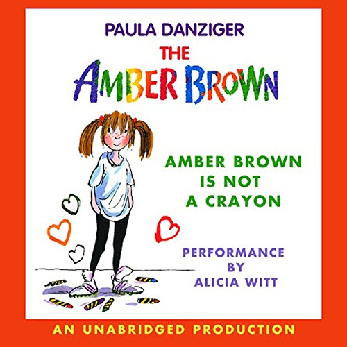 Amber Brown Is Not a Crayon audiobook cover art