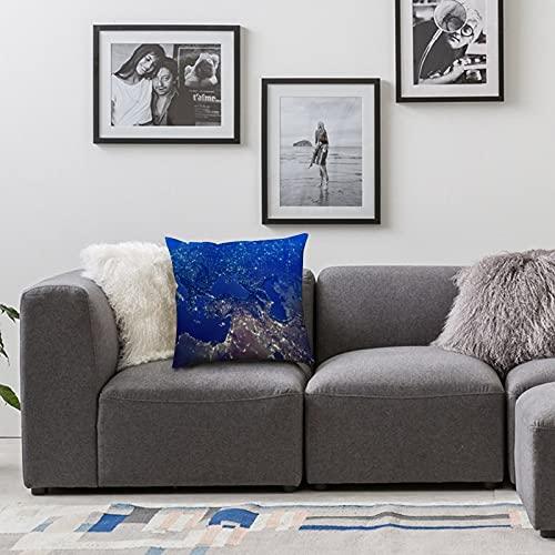 BONRI Throw Funda de Almohada de 16 x 16 Pulgadas, Fundas de cojín de poliéster Fundas de Almohada, sofá, decoración del hogar, Oferta de búsqueda, para Coche, sofá Cama, sofá, decoración del hogar