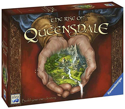 Ravensburger UK 82412 - Ravensburger The Rise of Queensdale Strategie-Brettspiel für Kinder & Erwachsene, ab 12 Jahren, Bauen Sie Ihre eigene Destiny-Englische Version, Mehrfarbig