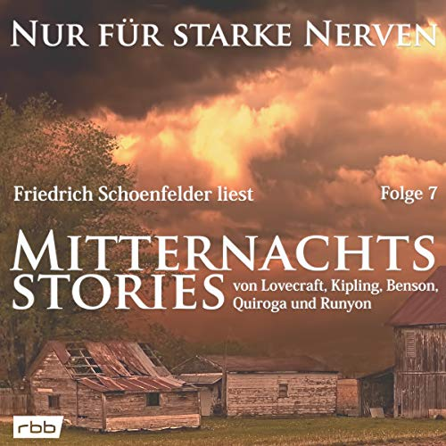 Mitternachtsstories von Lovecraft, Kipling u. v. a. audiobook cover art