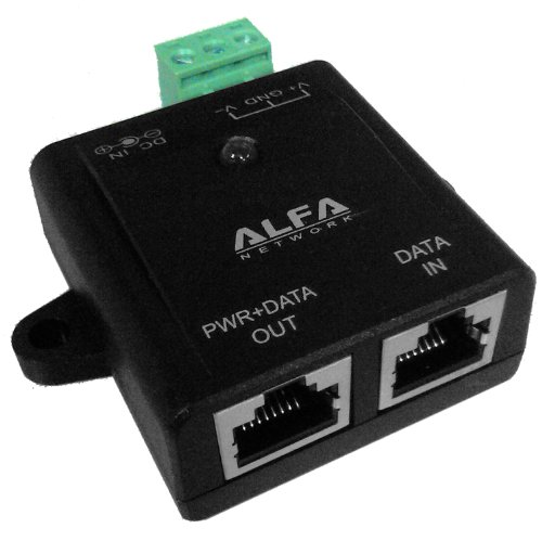 ALFA APOE03, Redundant Industrial PoE Power over Ethernet, Strom über Netzwerkkabel