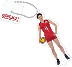 台座付きストラップ 2021バレーボール女子日本代表 (長岡望悠 選手)