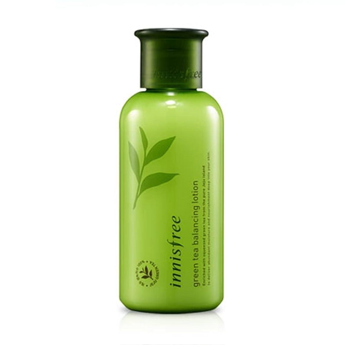 類人猿繊毛とても【イニスフリー】 Innisfree Green Tea Balancing Lotion グリーンティーバランシングローション160mL [並行輸入品]