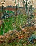 Art-Galerie Digitaldruck/Poster Paul Gauguin - Paysage a