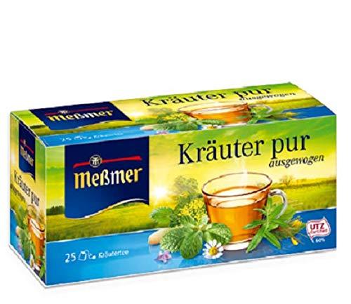 Meßmer Kräuter Pur, 12er Pack (12 x 25 x 2 g Packung)
