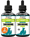 Helps with Stress: hemp oil for pets is an effective way to support pet's good mood even during stressful situations like thunderstorms, separation, traveling, grooming, fireworks, loud sounds. Oil for Calming Support: pet hemp oil for dogs & cats he...
