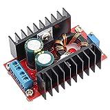 150W 12-32V a 12-35V Módulo elevador Convertidor de voltaje elevador ajustable CC a CC para equipo electrónico Fuente de alimentación de voltaje de refuerzo