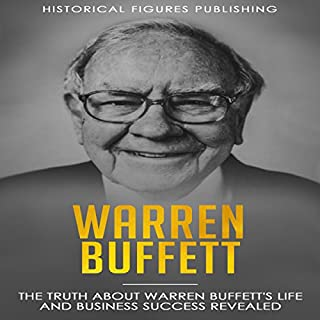 Warren Buffet audiobook cover art