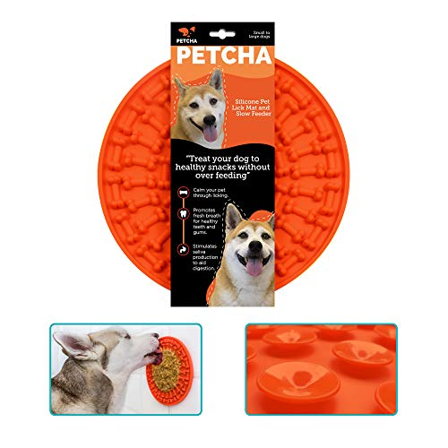 of dog bathings dec 2021 theres one clear winner PETCHA Dog Lick Pad - Lick Mat for Dogs Large - Dog Licking Mat for Anxiety - Dog Peanut Butter Lick Pad for Large Dogs - Dog Lick Mat with Suction Cups - Licky Mat for Dogs - Puppy Lick Mat
